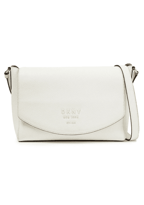 Dkny Noho Pebbled-leather Shoulder Bag Woman White Size --