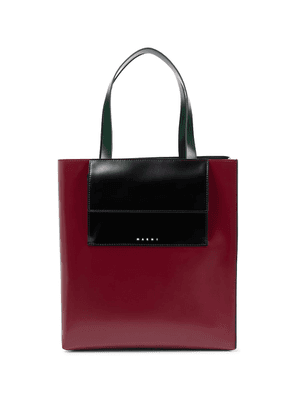 Museo Large leather tote
