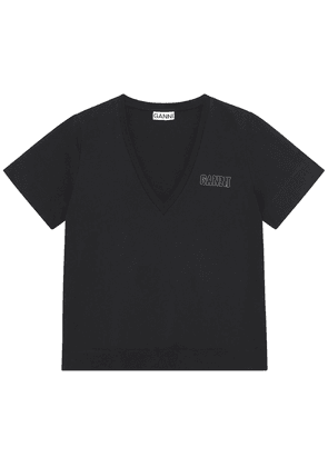 Logo Recycled Cotton Blend T-shirt