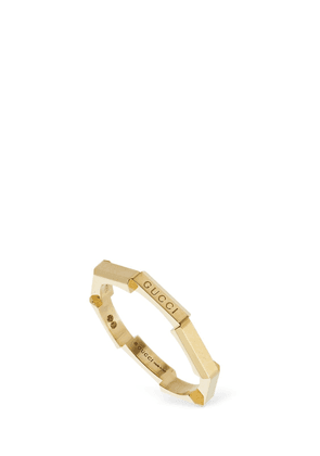 18kt Gold Link To Love Ring