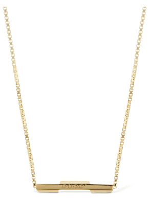 18kt Gold Link To Love Necklace