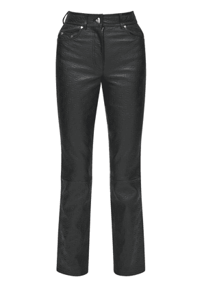Rosita Embossed Leather Pants