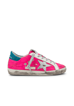 Golden Goose Superstar Sneaker in Fuchsia. Size 38, 39, 35, 36.