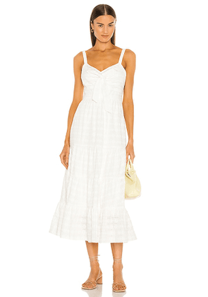 LIKELY Stasia Dress in White. Size 2, 4, 6, 8.
