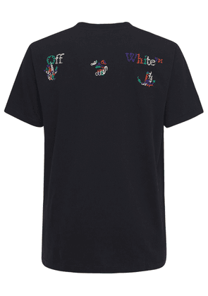 Lvr Exclusive Logo Cotton Jersey T-shirt