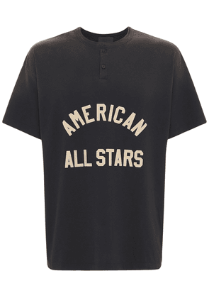 All Star Henley Cotton T-shirt