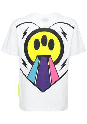 Heart Rainbow Logo Cotton T-shirt