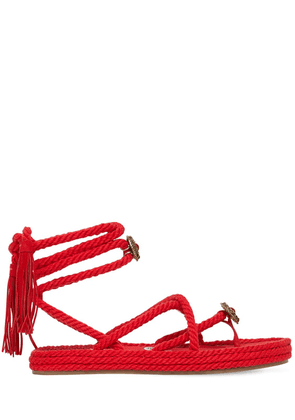 25mm Rope Cotton & Nylon Thong Sandals