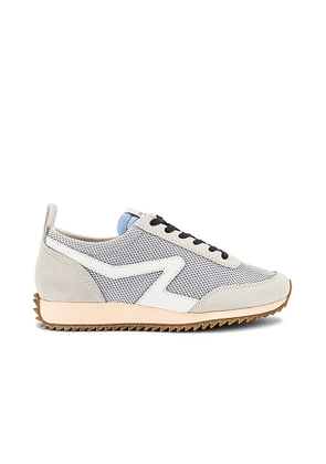 Rag & Bone Retro Runner Sneaker in Light Grey. Size 39, 40.