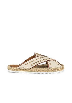 See By Chloe Pia Slide in Neutral. Size 36, 37, 38, 39, 40, 41.