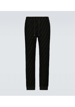 FF velvet sweatpants