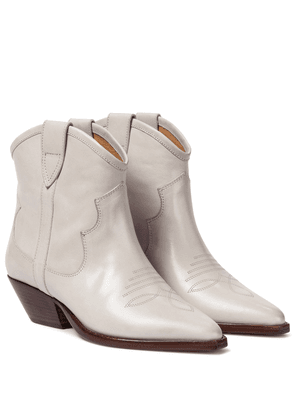 Demar leather cowboy boots