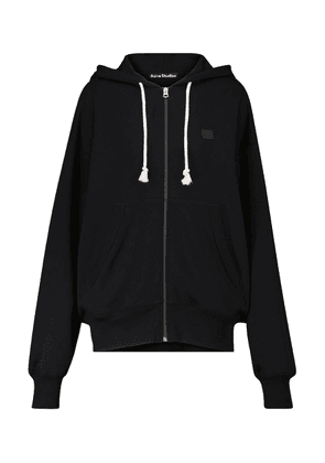 Face cotton hoodie