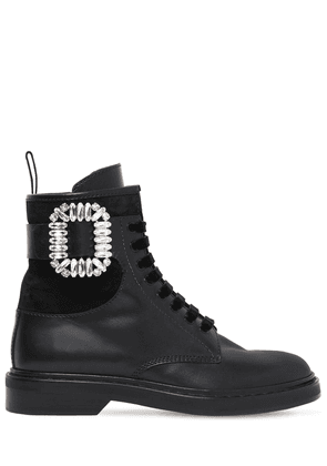 25mm Viv Ranger Embellished Leather Boot