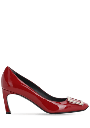 70mm Trompette Patent Leather Pumps