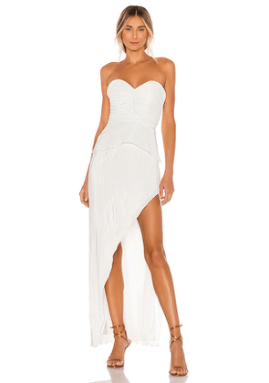 NBD Easton Gown in White. Size XS.