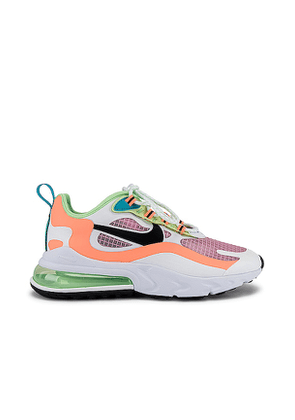 Nike Air Max 270 React SE Sneaker in Pink. Size 6.