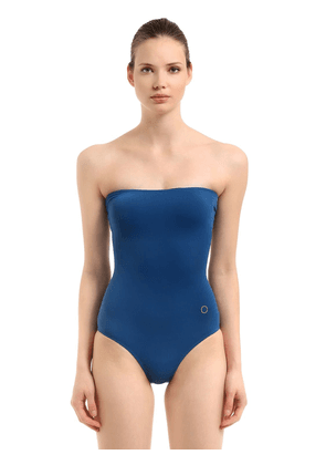 Strapless One Piece Swimsuit