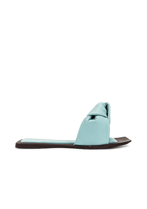 Jeffrey Campbell Aeron Slide in Baby Blue. Size 7, 8, 9, 10.