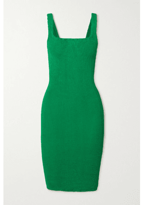 Hunza G - + Net Sustain Seersucker Mini Dress - Emerald