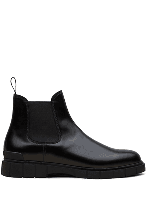 Car Shoe chunky sole Chelsea boots - Black