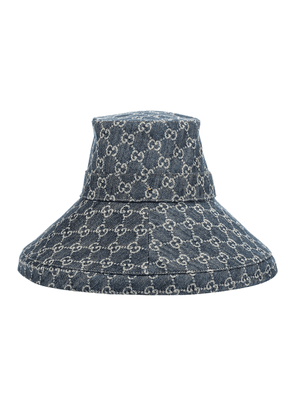 GG jacquard denim hat