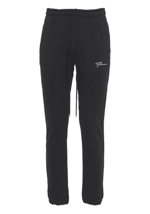 Flared Cotton Sweatpants