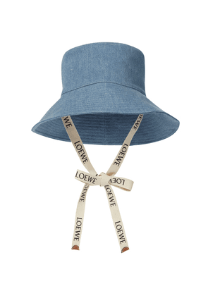 Paula's Ibiza denim bucket hat