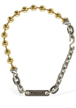 Marjane Two Tone Cable Chain Necklace
