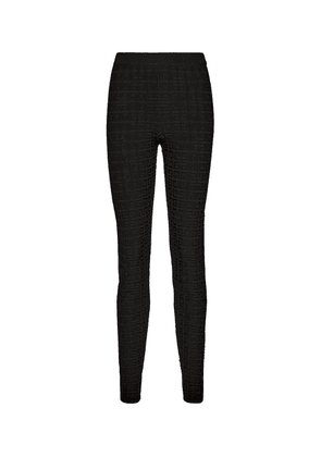 Mid-rise logo leggings