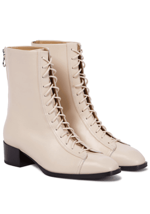 Noel leather ankle boots