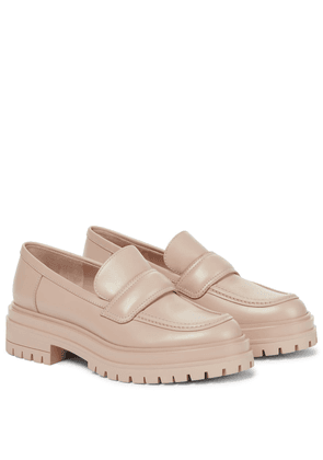 Argo leather loafers