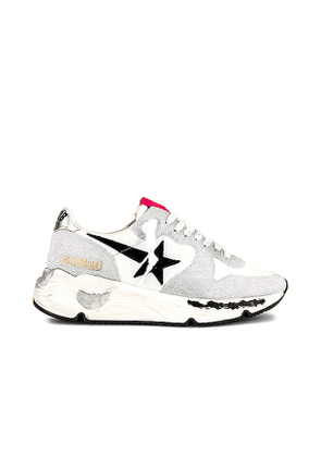 Golden Goose Running Sneaker in White. Size 37, 35.
