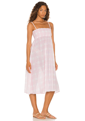 Solid & Striped Willow Dress in Blush. Size S, M, L.