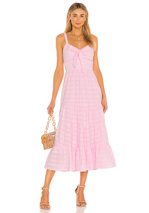LIKELY Stasia Dress in Pink. Size 4.