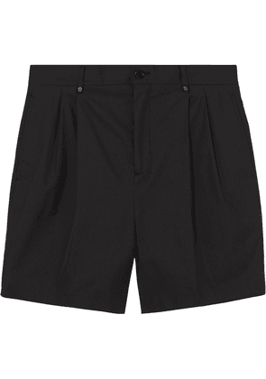 Burberry technical tailored shorts - Black