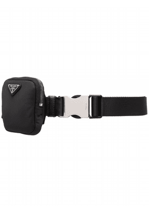 Prada Re-Nylon pouch belt - Black