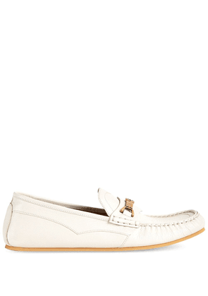 Gucci Horsebit-detail loafers - White