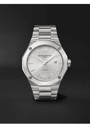 Baume & Mercier - Riviera Automatic 42mm Stainless Steel Watch, Ref. No. M0A10622 - Men - Silver