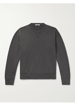 OUR LEGACY - Loopback Cotton-Jersey Sweatshirt - Men - Gray - IT 48