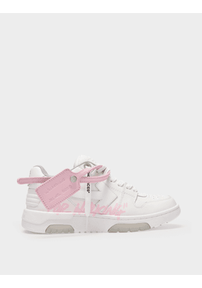Off-White Out Of Office For Walking Sneakers in White Grey