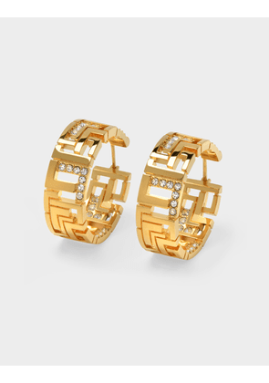 Leda Madera Goldie Earrings in Gold Brass