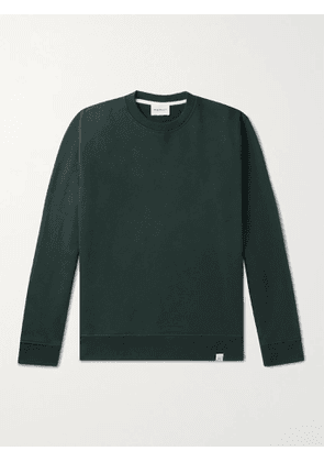NORSE PROJECTS - Vagn Loopback Cotton-Jersey Sweatshirt - Men - Green - S