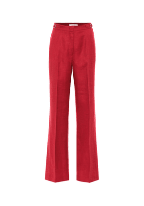 Exclusive to Mytheresa – Vesta high-rise wool-blend pants