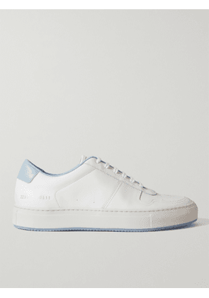 COMMON PROJECTS - BBall '90 Leather Sneakers - Men - White - EU 45