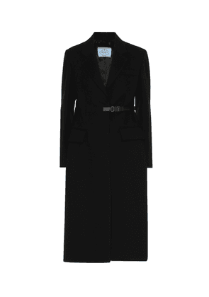 Virgin wool coat