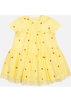 Chloe Girls' Flare Dress - Lime - 5 Years