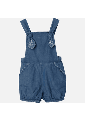 Chloe Girls' Toddlers All In One Romper - Denim Blue - 3 Years