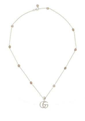 Double G Mother Of Pearl Necklace