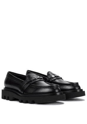 Elba leather loafers